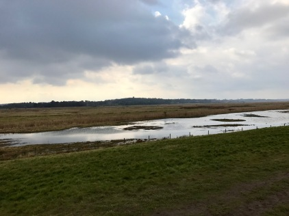Cley From The Sea Wall
